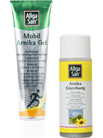 Allga San Arnika Lotion and Gel